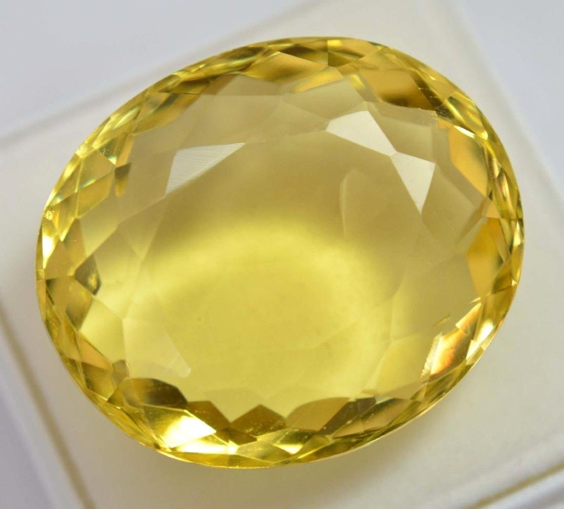 80.80 Ct Shiny Lemon Citrine GGL Certified