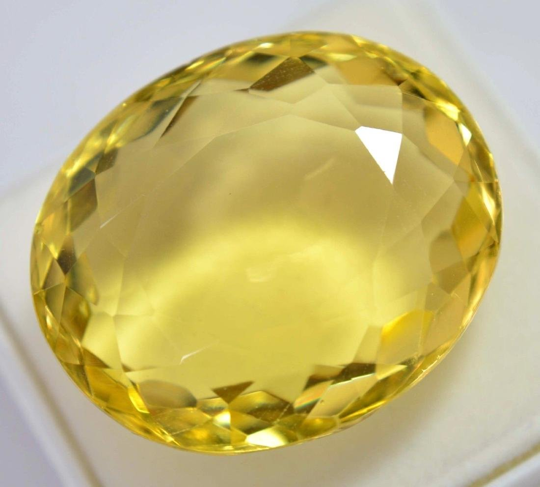 80.80 Ct Shiny Lemon Citrine GGL Certified - 2