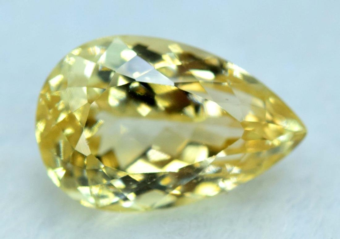 11.05 cts yellow color triphane kunzite loose gemstone - 2