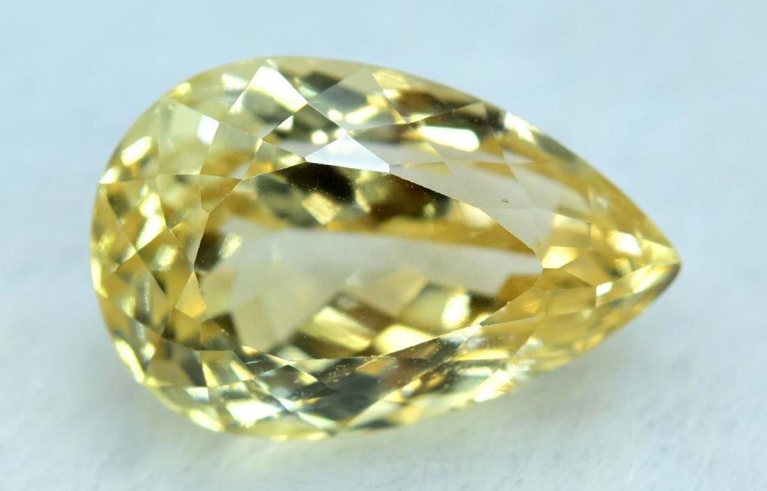 11.05 cts yellow color triphane kunzite loose gemstone - 5
