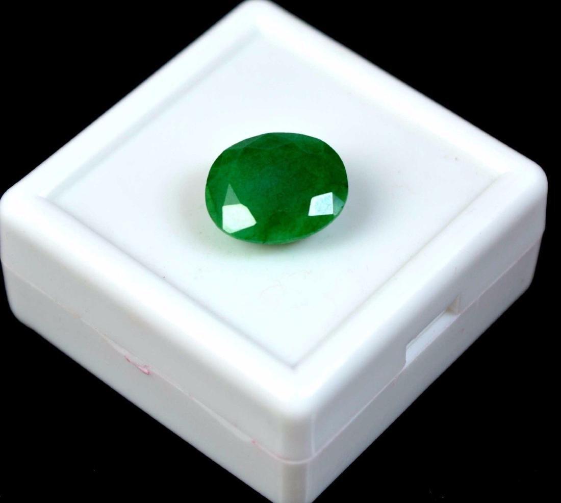 6.20 Ct Natural IGL Certified Green Emerald - 2