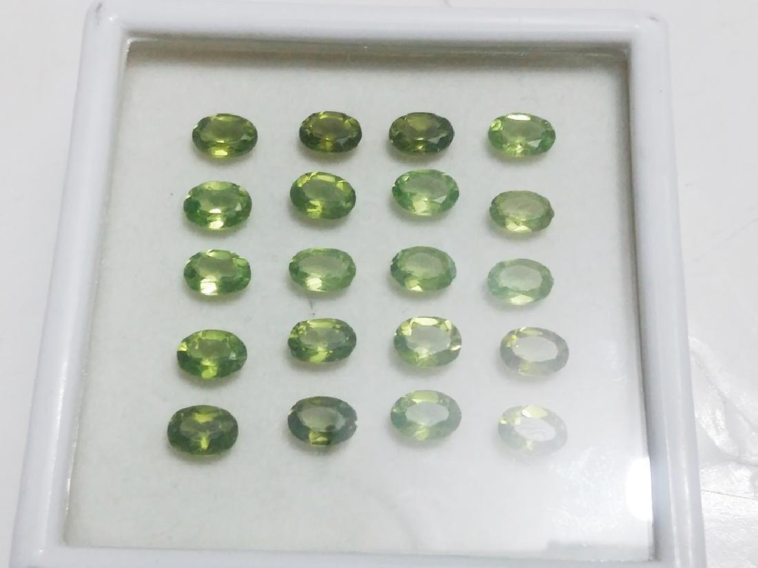 Natural Green Oval Peridot Gemstone Wholesale Lot