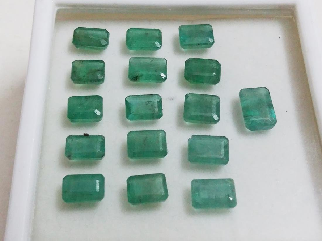 Natural Emerald Cut  Colombian Emerald Gemstone - 2