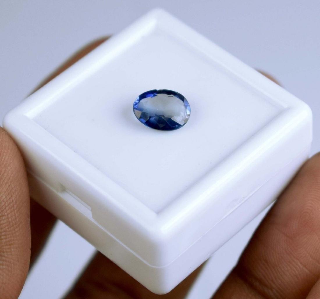 2.30 Ct Natural Blue Sapphire  IGL Certified - 2