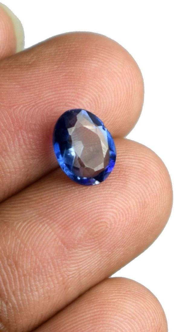 2.30 Ct Natural Blue Sapphire  IGL Certified - 3