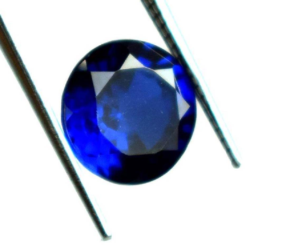 2.35 CT Natural  IGL Certified Blue Sapphire