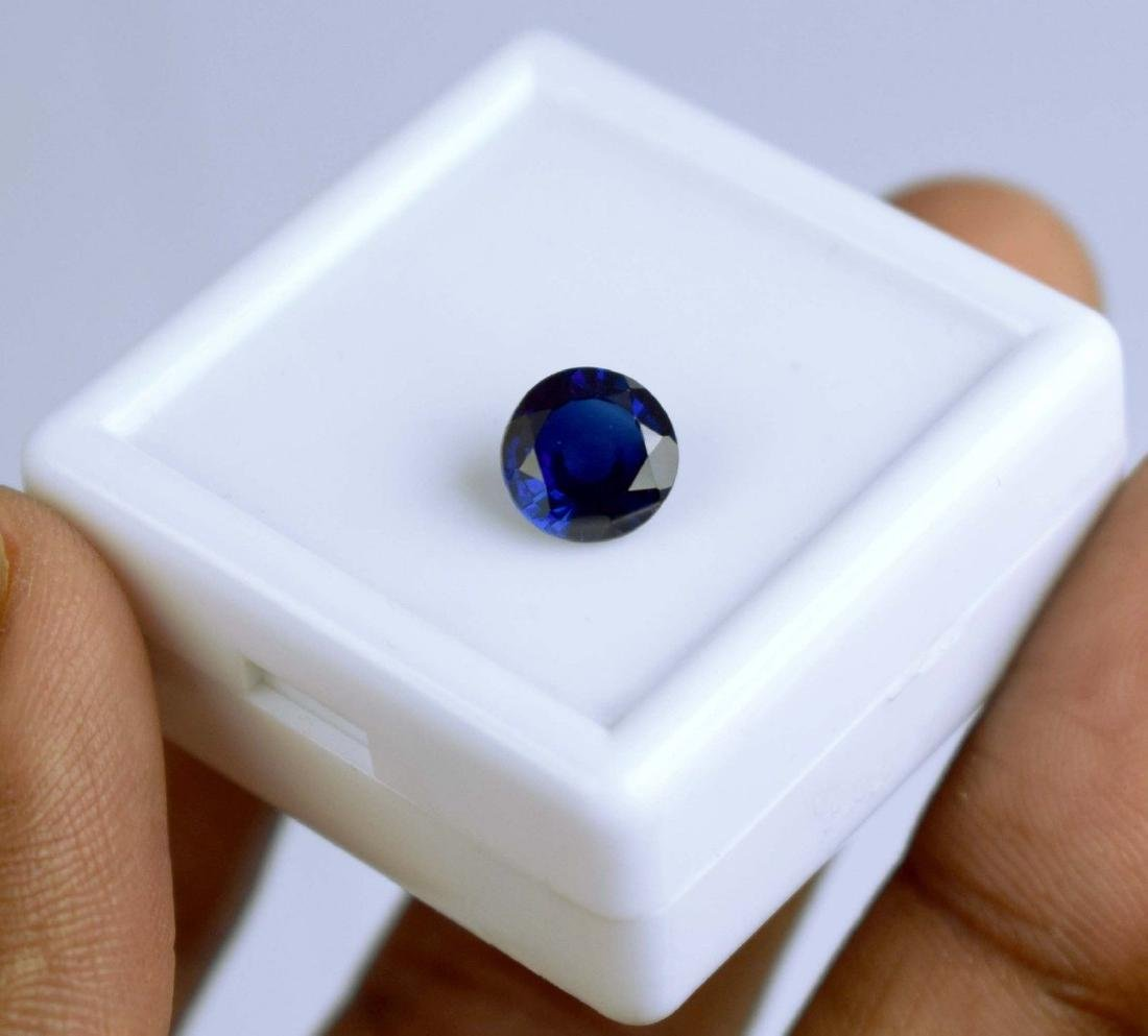 2.35 CT Natural  IGL Certified Blue Sapphire - 2