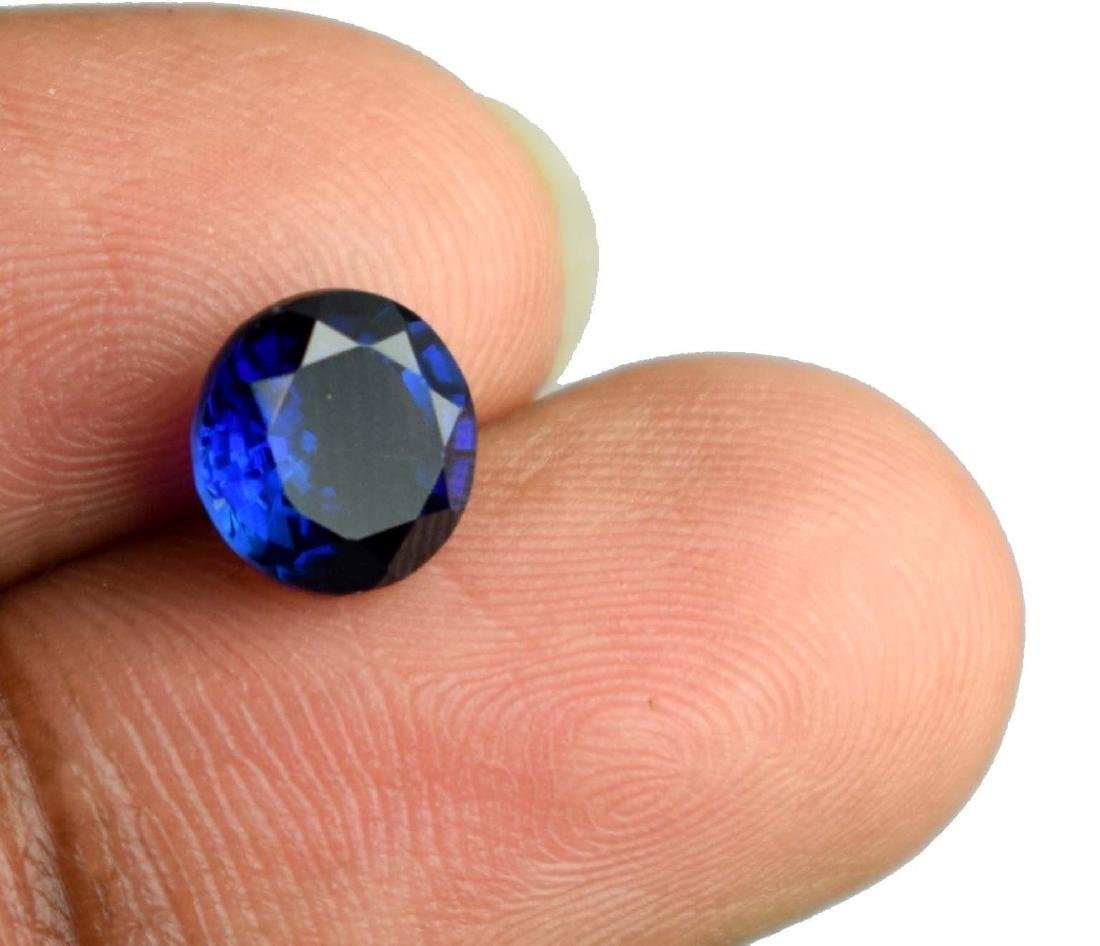 2.35 CT Natural  IGL Certified Blue Sapphire - 3