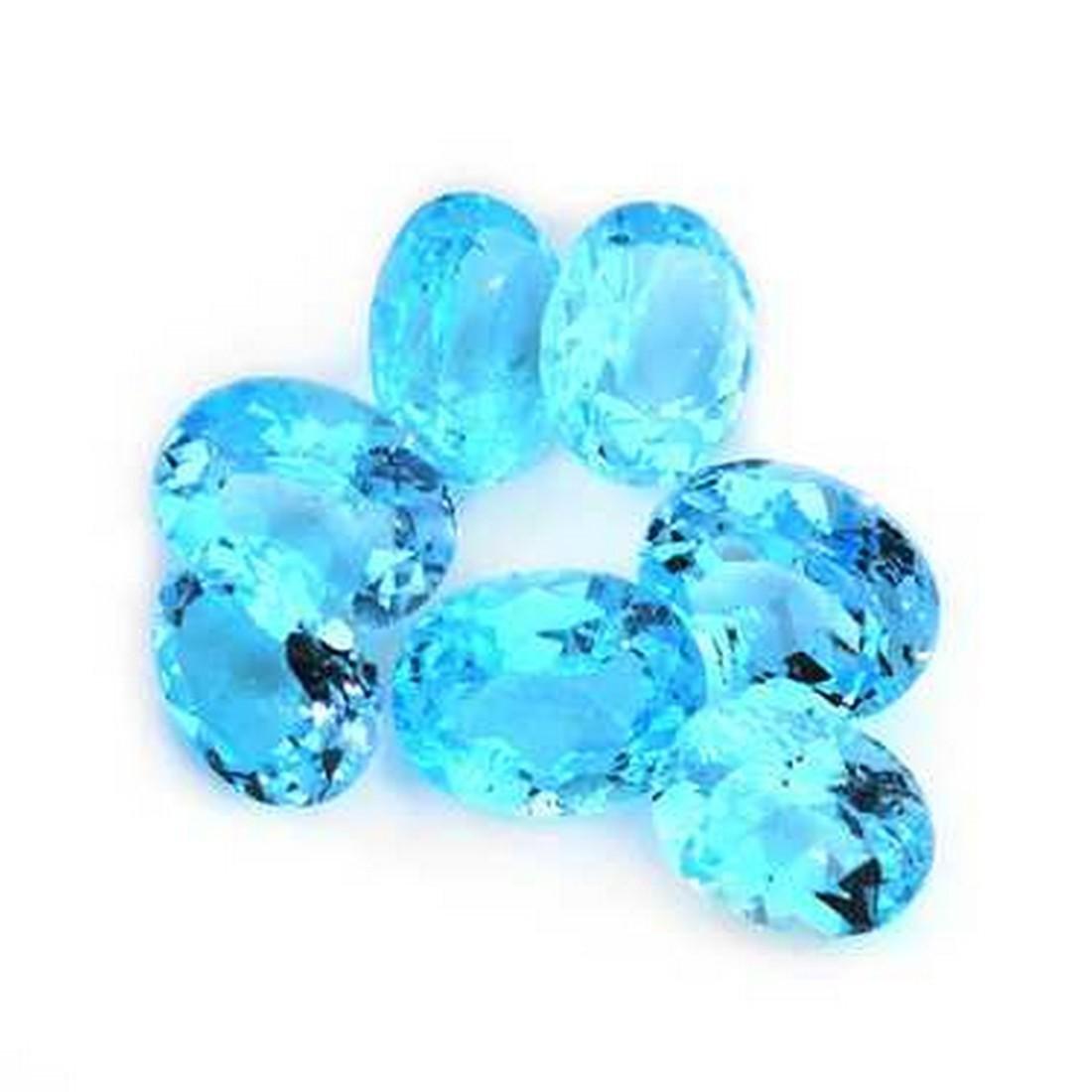 26.24 ct blue topaz parcel