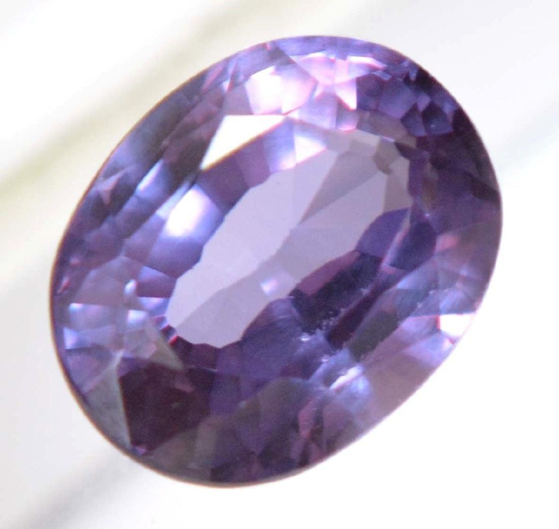 9.65 Ct Natural Color Change Blue Sapphire AGSL