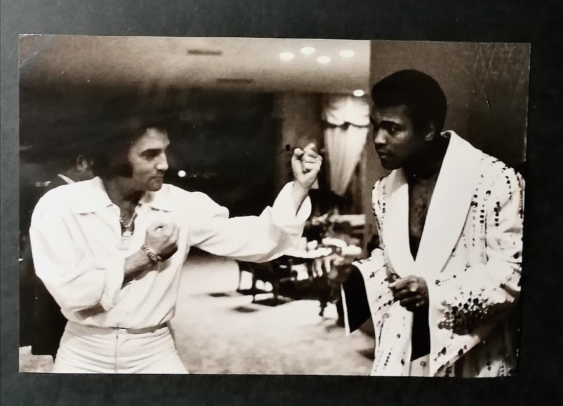 Muhammad Ali 'Greatest' & Elvis Presley King Of Rock