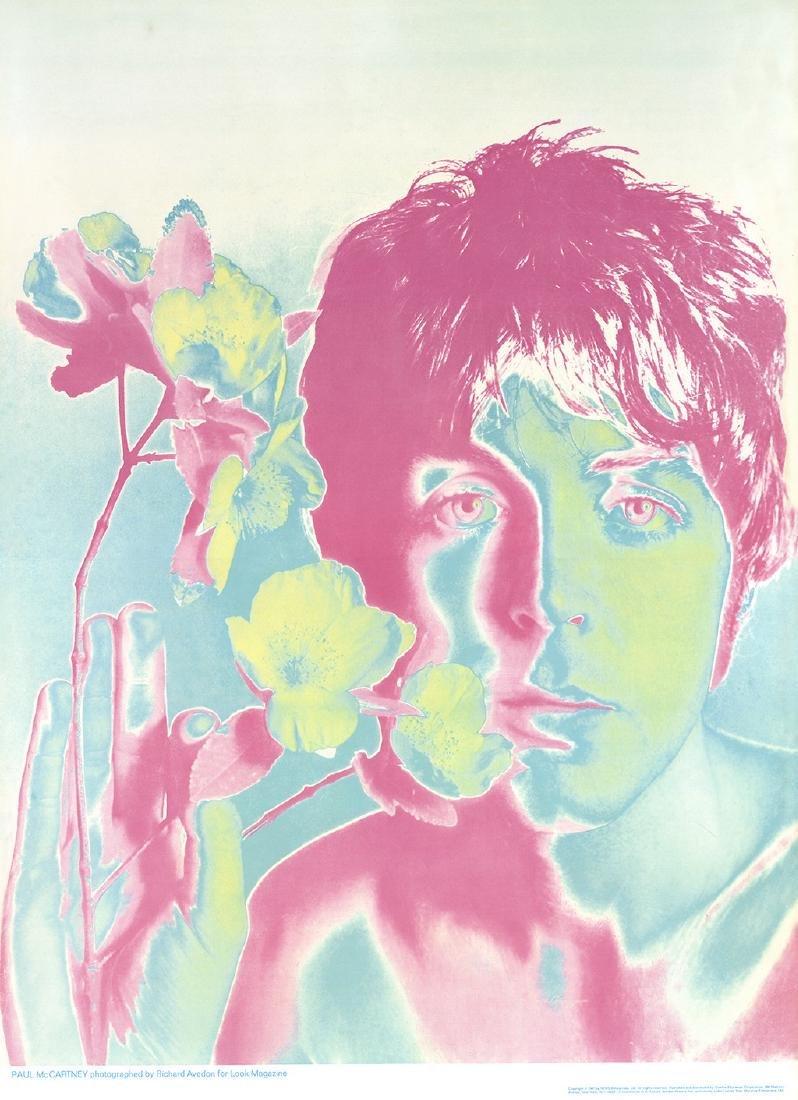 Richard Avedon Offset Lithograph Paul McCartney