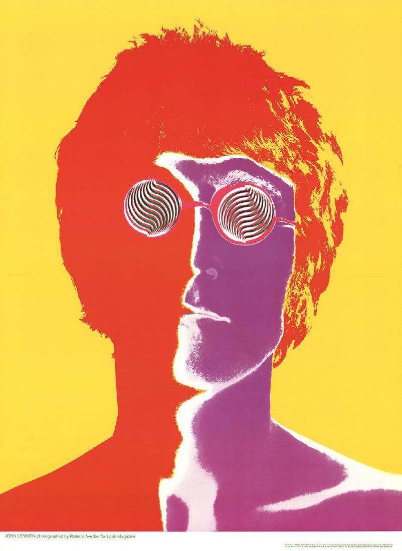 Richard Avedon Offset Lithograph John Lennon