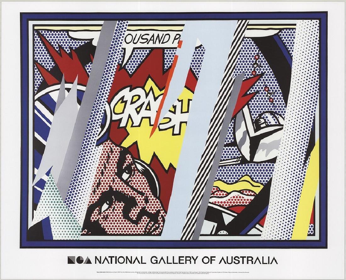 4 Assorted Roy Lichtenstein Reflections Posters