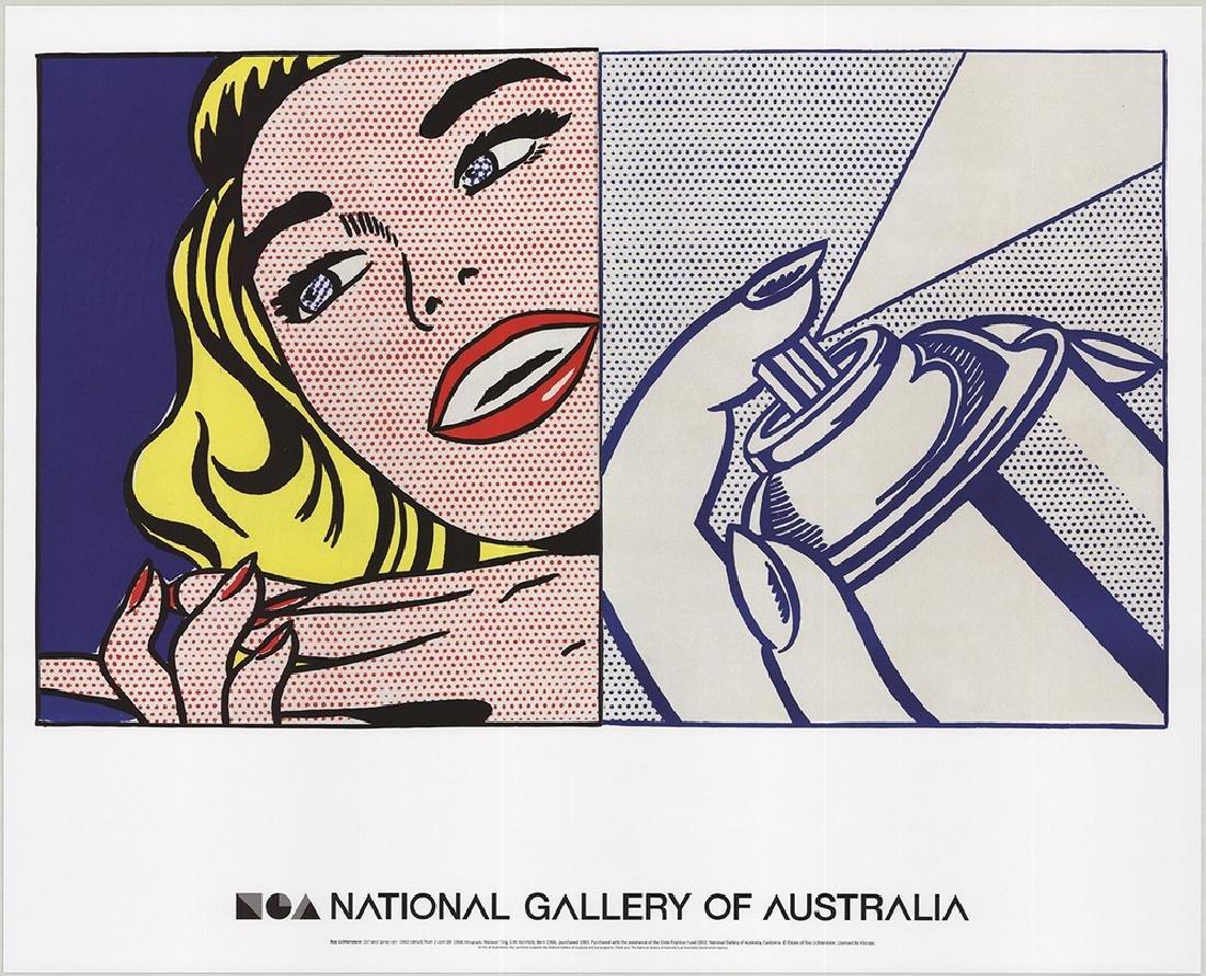 4 Assorted Roy Lichtenstein Reflections Posters - 2