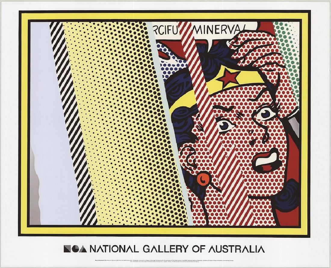 4 Assorted Roy Lichtenstein Reflections Posters - 3