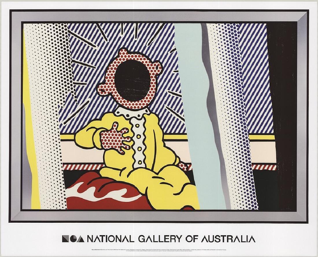 4 Assorted Roy Lichtenstein Reflections Posters - 4