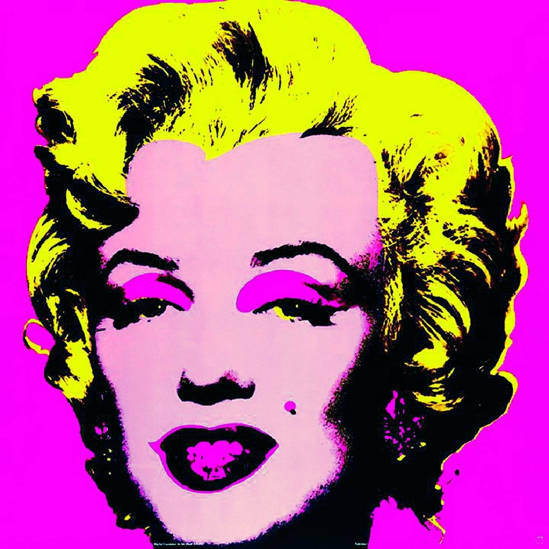 4 Assorted Andy Warhol Marilyn Monroe Large Posters - 4