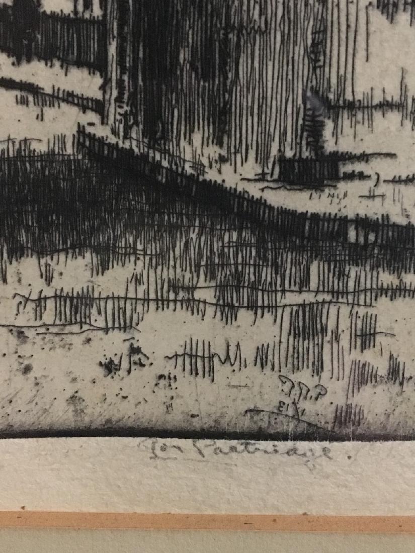 Roi Partridge Lithograph - 3