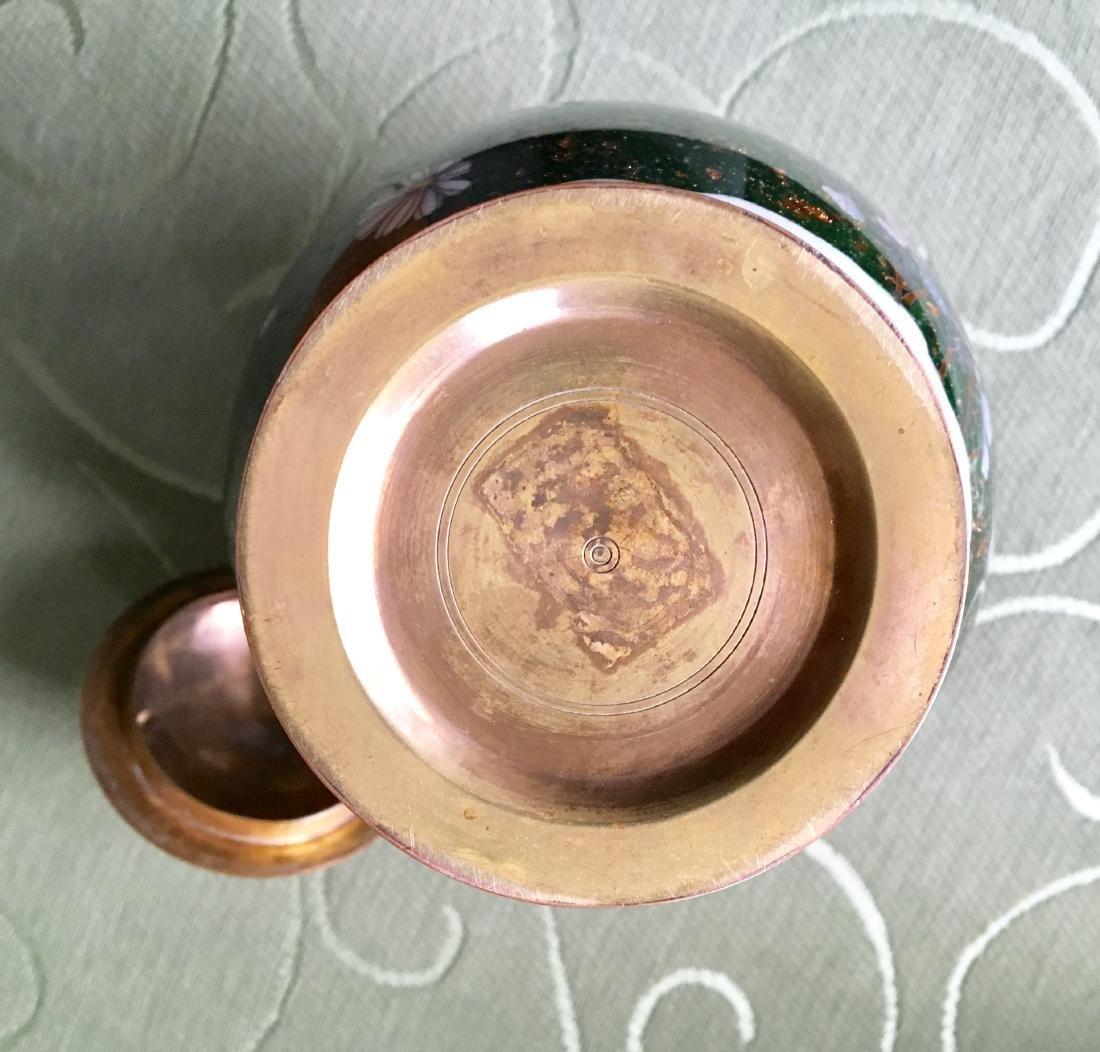 Japanese Meiji Period cloisonne Vase - 3