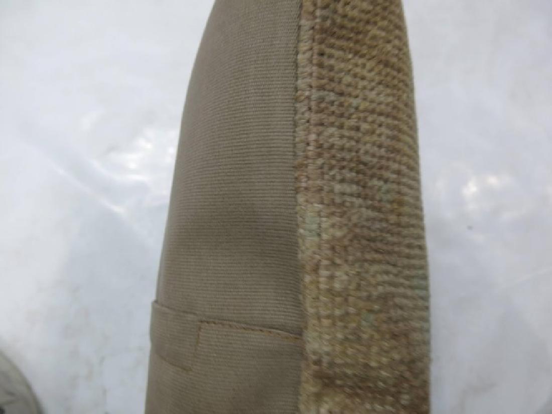 Vintage Oushak Rug Pillow 1.3x1.9x1.9 - 2
