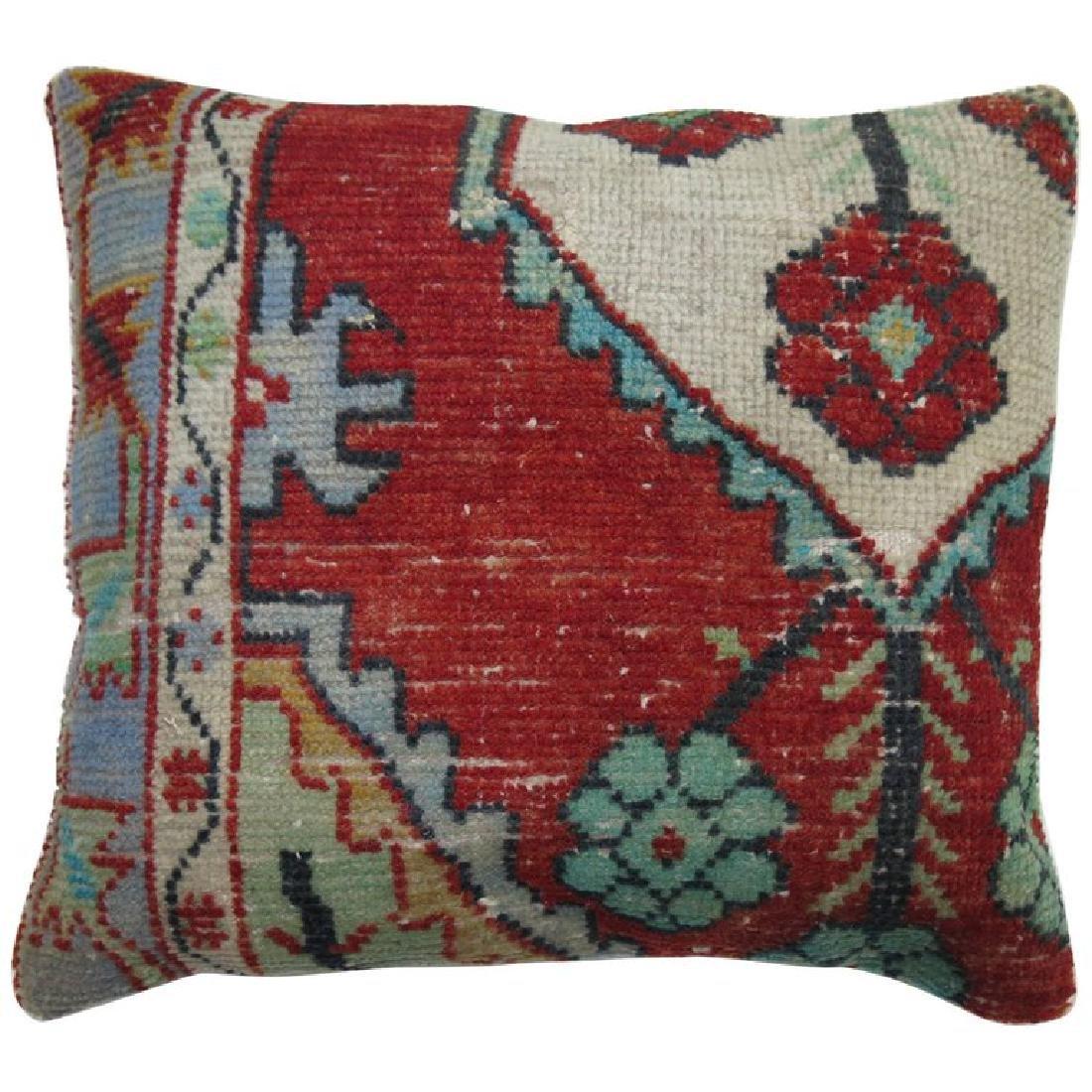 Turkish Anatolian Rug Pillow 1.4x1.6x1.6