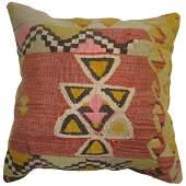 Vintage Kilim Rug Pillow 1.5x1.6x1.6