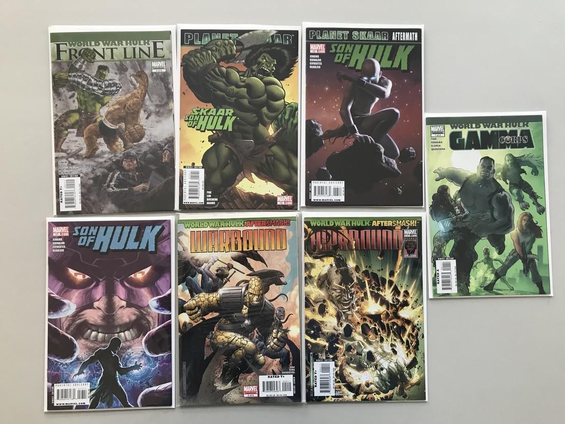 Lot of 13 World War Hulk Series (2007) (2008) (2014)