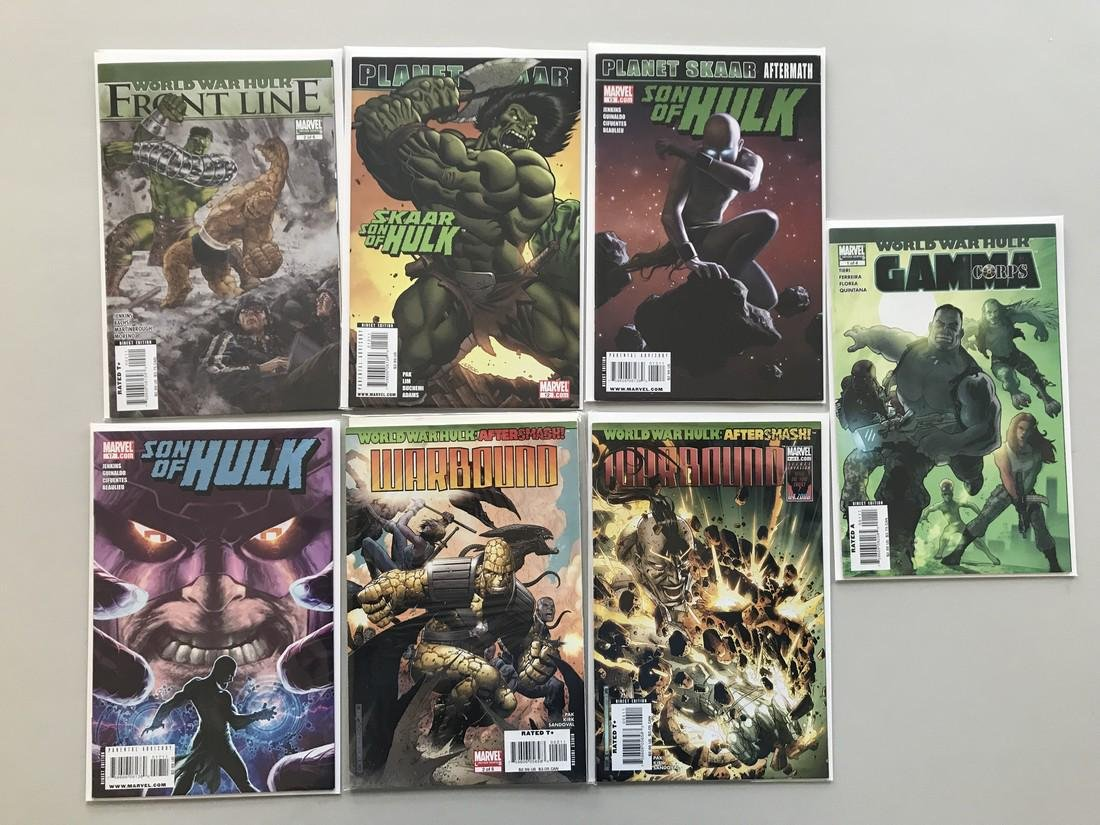 Lot of 13 World War Hulk Series (2007) (2008) (2014)