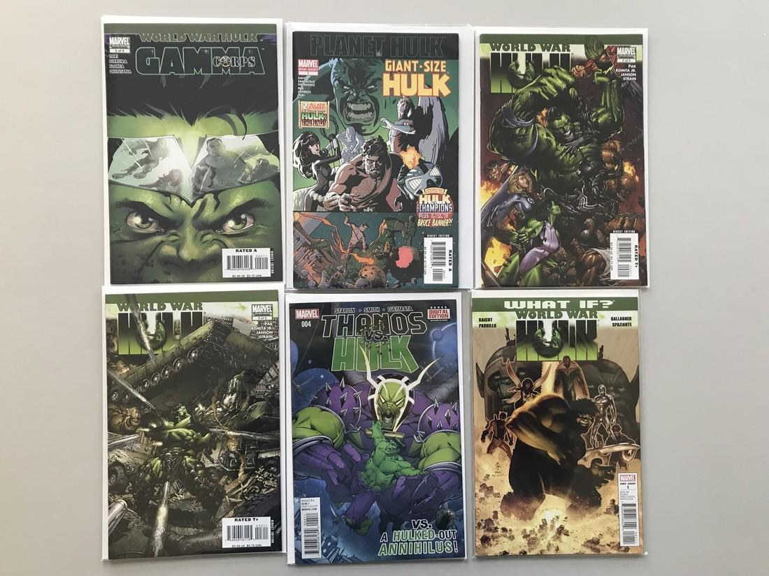 Lot of 13 World War Hulk Series (2007) (2008) (2014) - 2