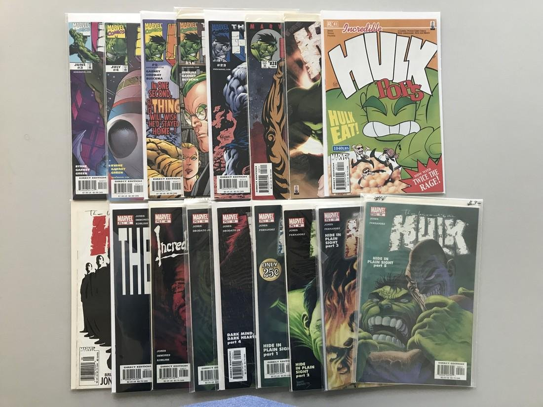 Lot of 17 Incredible Hulk (1999 2nd Series) from #3-59