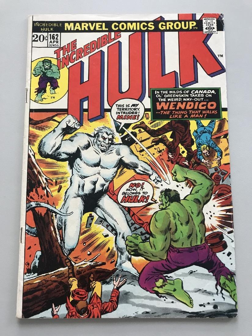 Incredible Hulk (1962-1999 1st Series) #162 1st Wendigo
