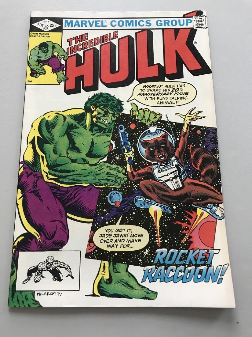 Incredible Hulk 1962 1st Series #271 1st Rocket Raccoon