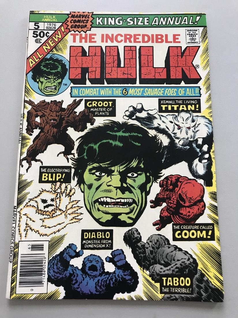 Incredible Hulk (1962-1999 1st Series) Annual #5 Groot