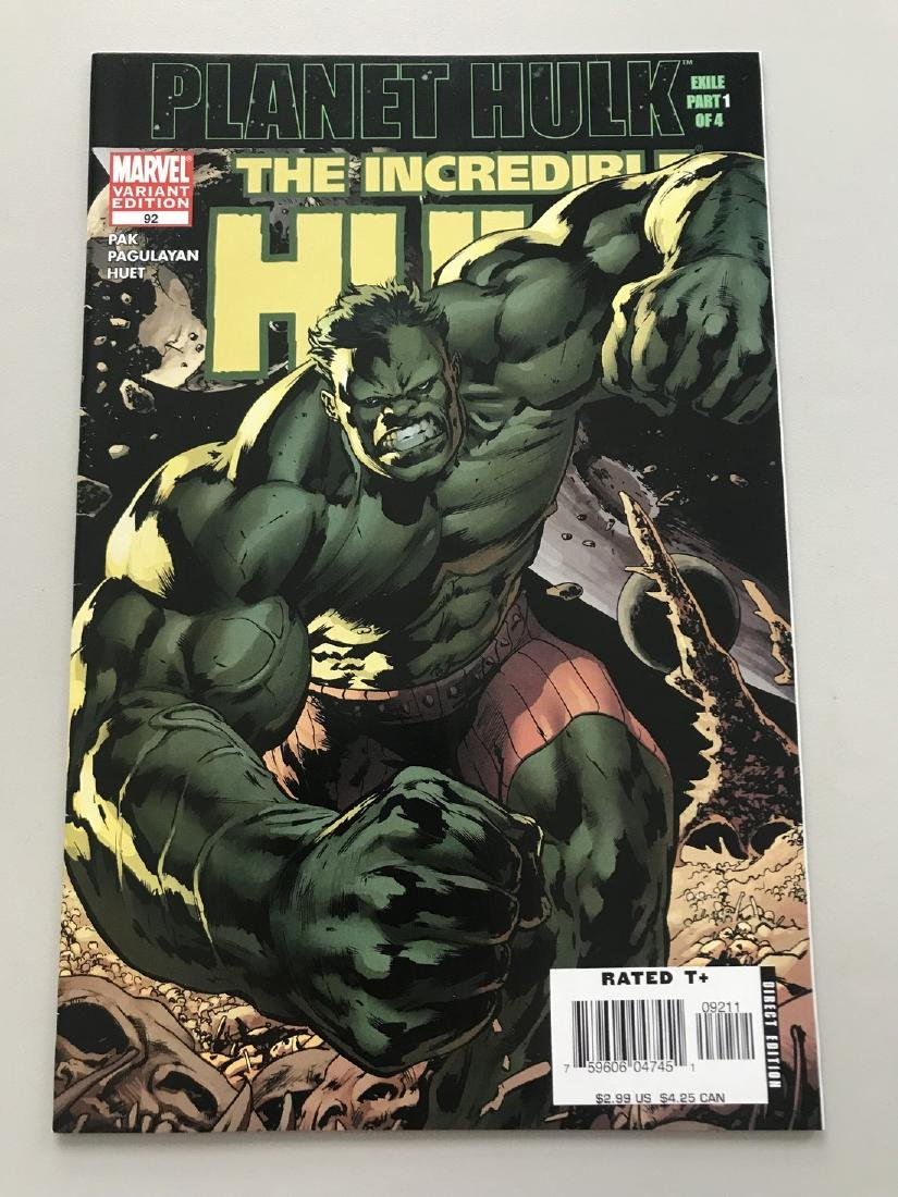 Incredible Hulk (1999 2nd Series) #92 Variant