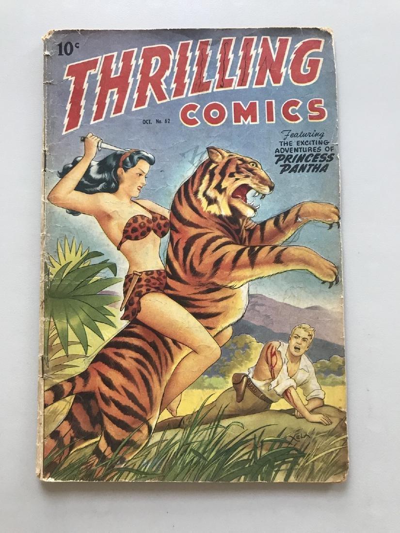 Thrilling Comics (1940-51 Better/Nedor/Standard) #62