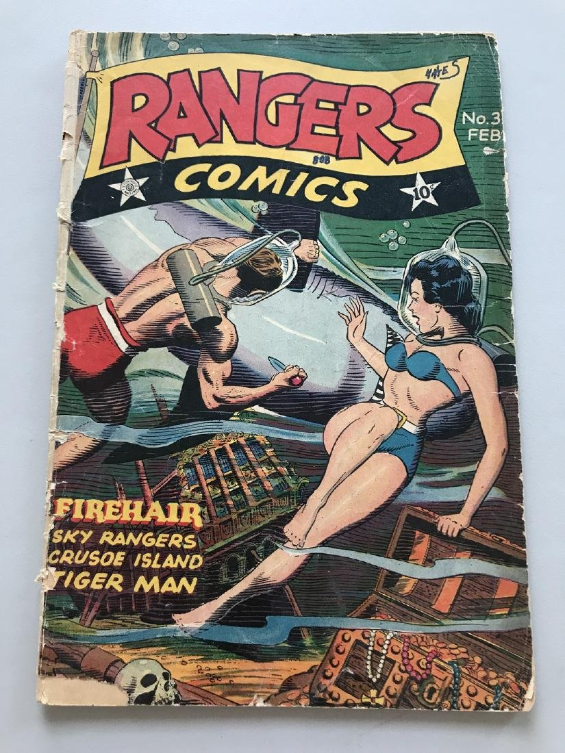 Rangers Comics (1941) #33 Low Grade