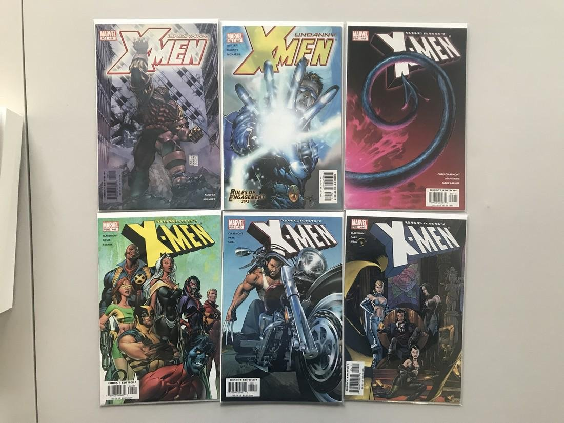 Lot of 12 Uncanny X-Men (1963 1st Series) from #416-478