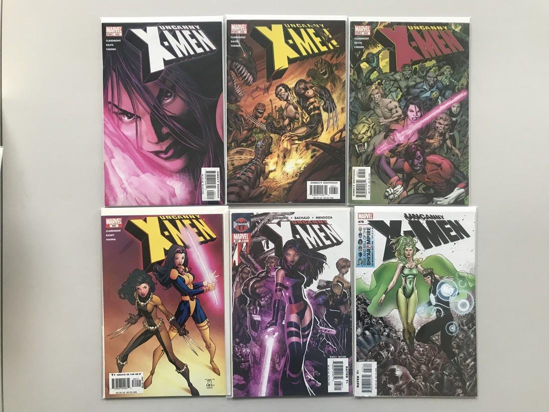 Lot of 12 Uncanny X-Men (1963 1st Series) from #416-478 - 2