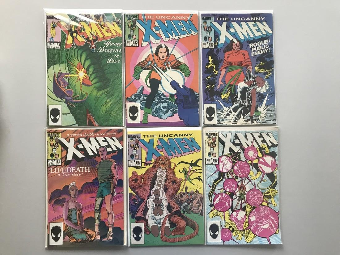 Lot of 12 Uncanny X-Men (1963 1st Series) from #139-188 - 2