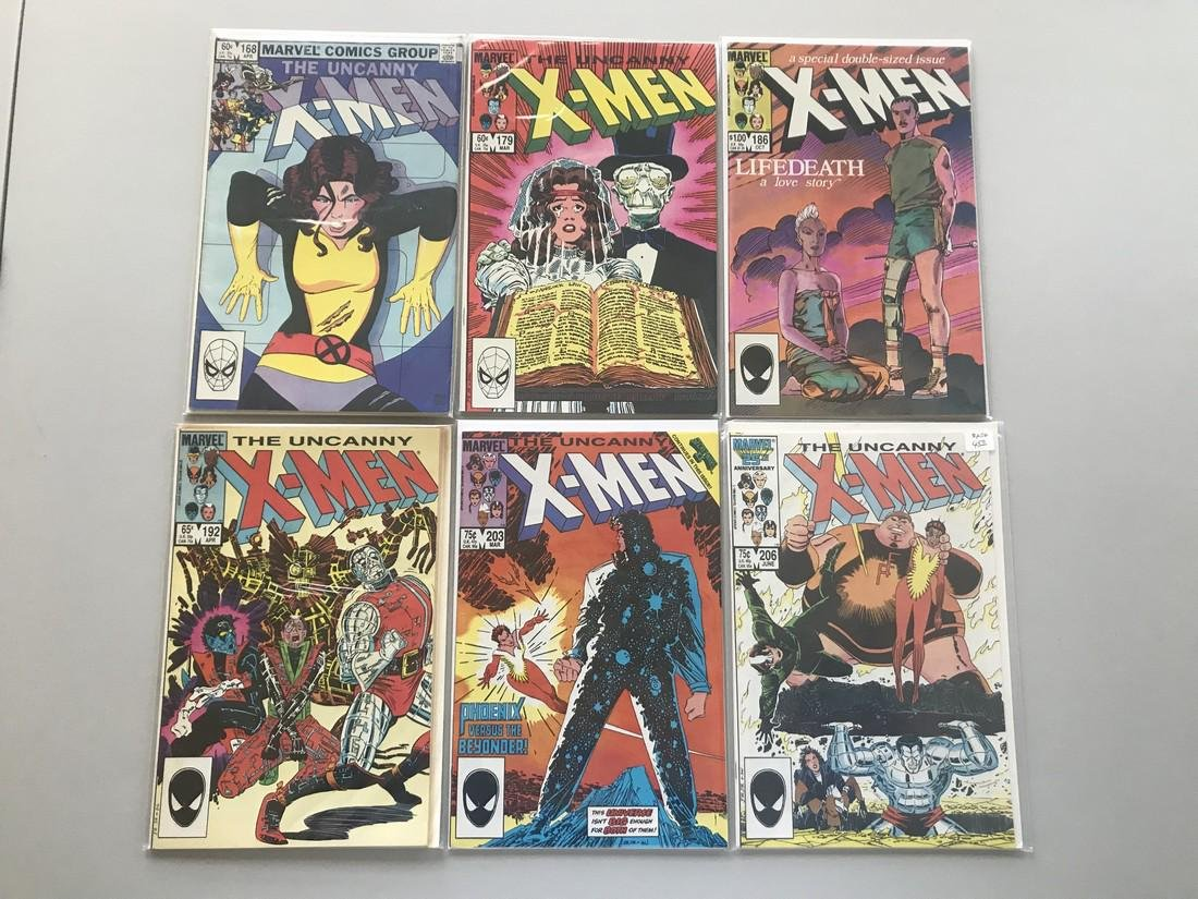 Lot of 12 Uncanny X-Men (1963 1st Series) from #168-225