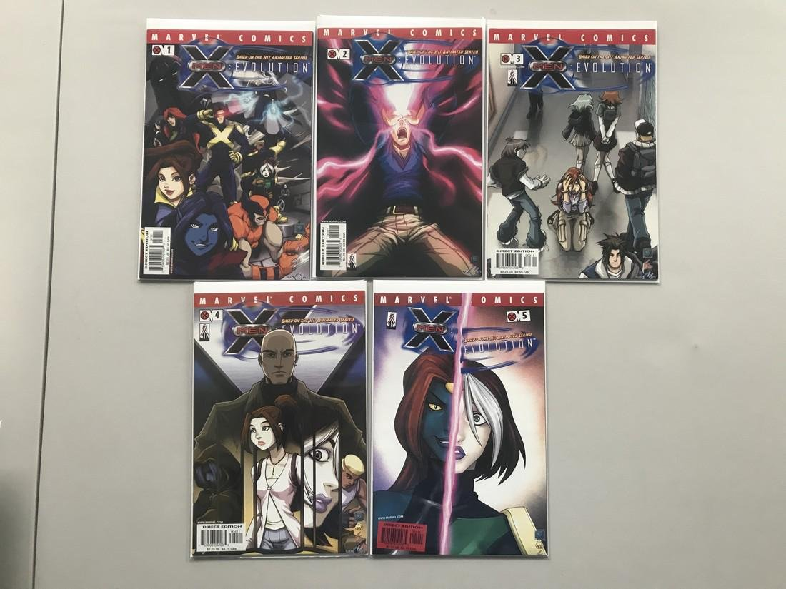 Lot of 9 X-Men Evolution (2002) #1-9