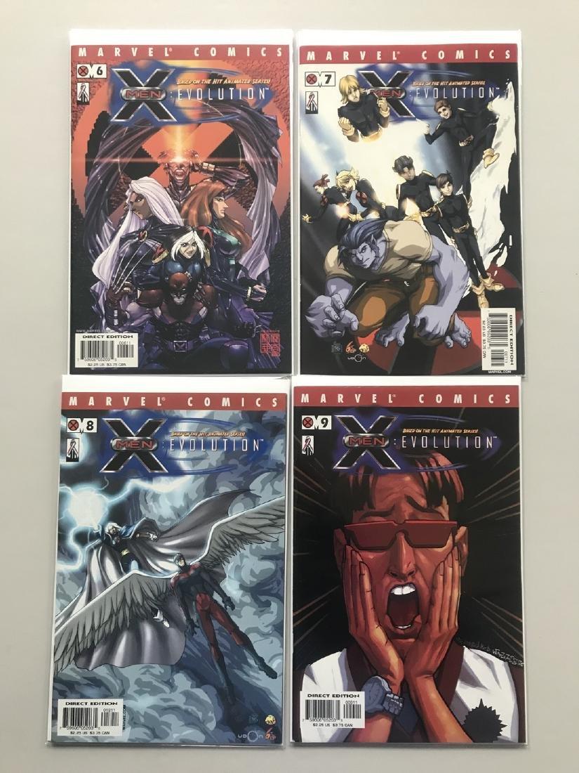 Lot of 9 X-Men Evolution (2002) #1-9 - 2