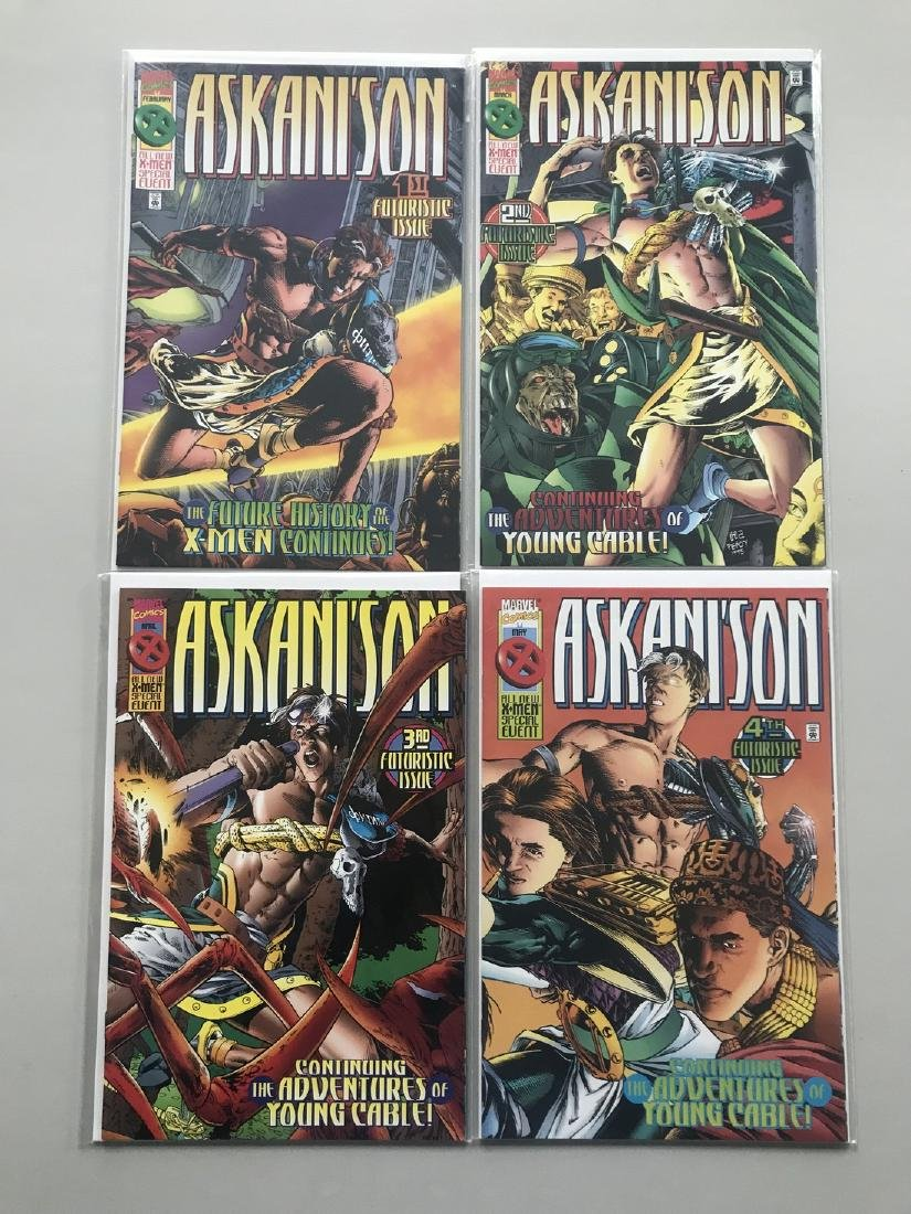 Lot of 8 Askani'son (1996) #1-4 X-Men Liberators (1998)