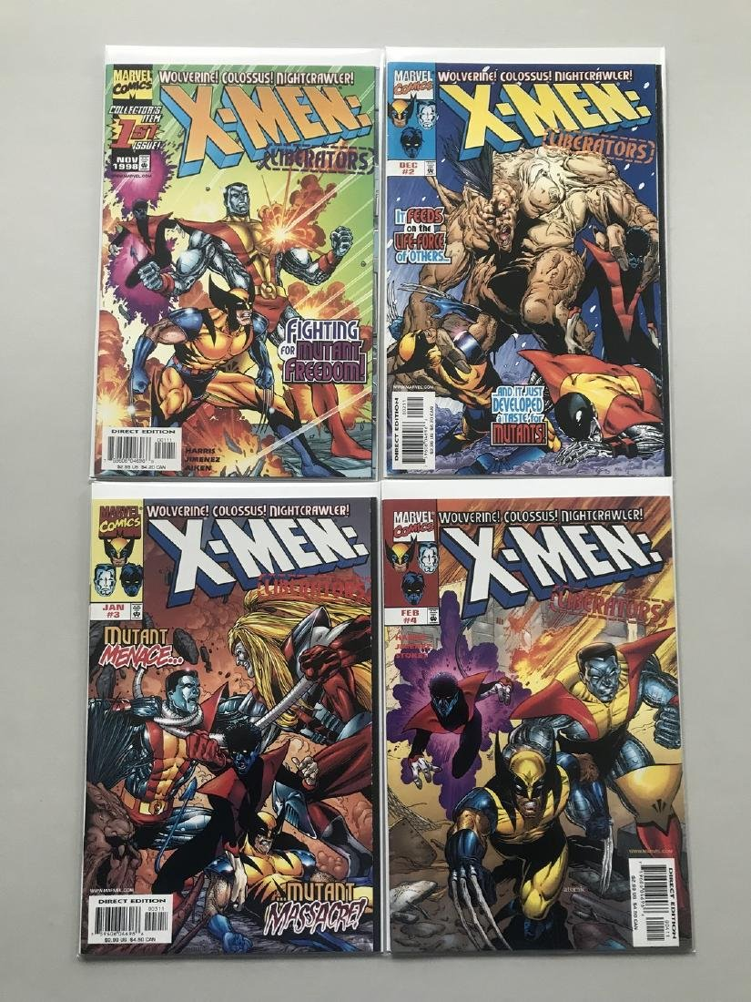 Lot of 8 Askani'son (1996) #1-4 X-Men Liberators (1998) - 2