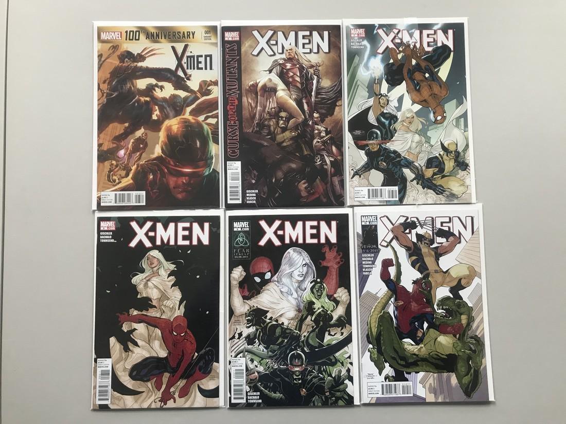 Lot of 11 100th Anniversary Special X-Men (2014) #1B