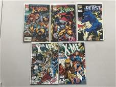 Lot of 7 Official Marvel Index to the X-Men (1994 2nd