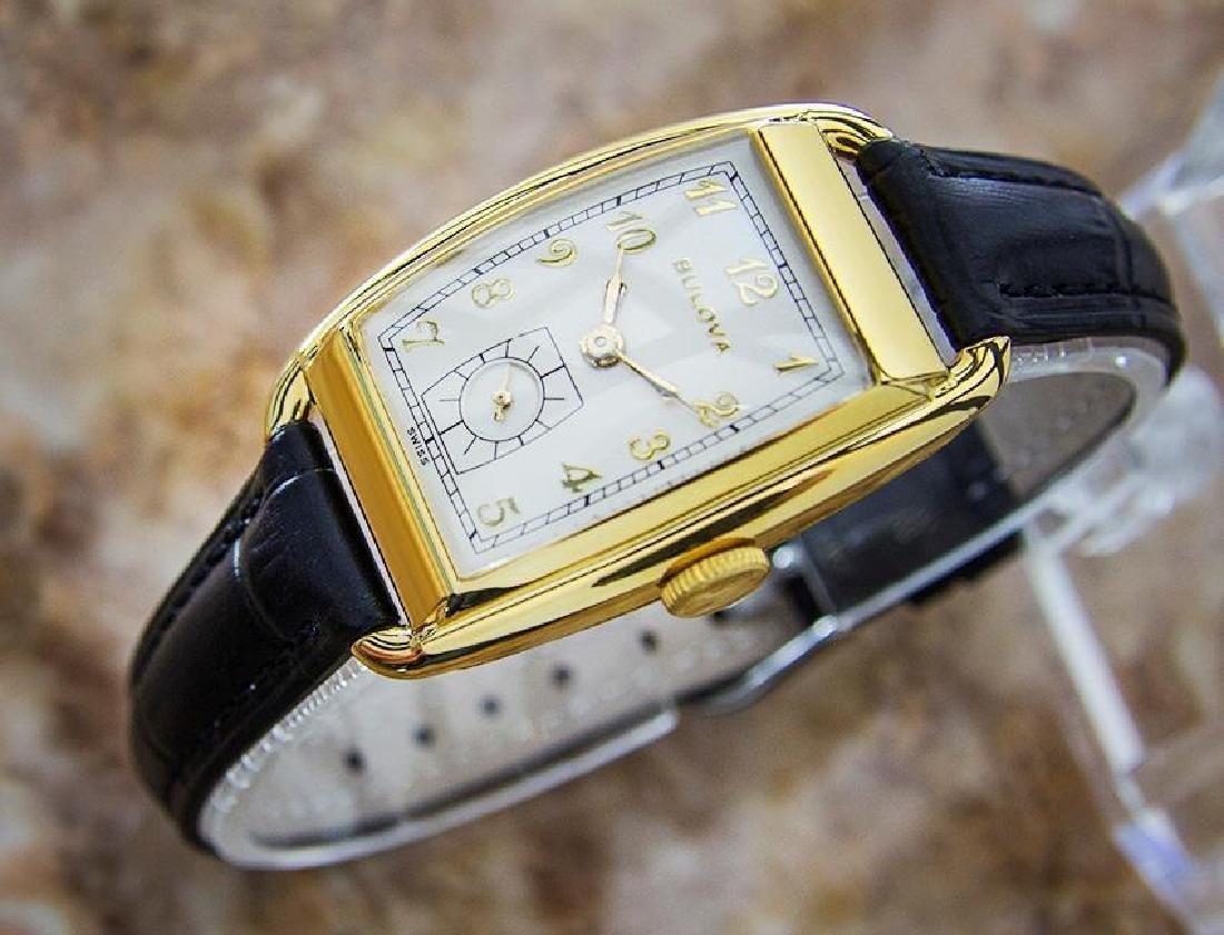 Bulova Rare Beautiful 1950s Mid Size Manual Gold Filled - 4