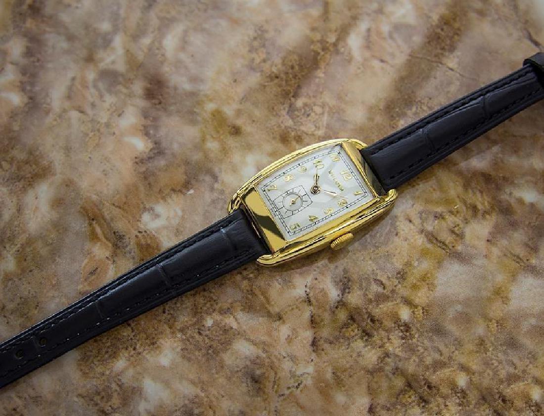 Bulova Rare Beautiful 1950s Mid Size Manual Gold Filled - 6