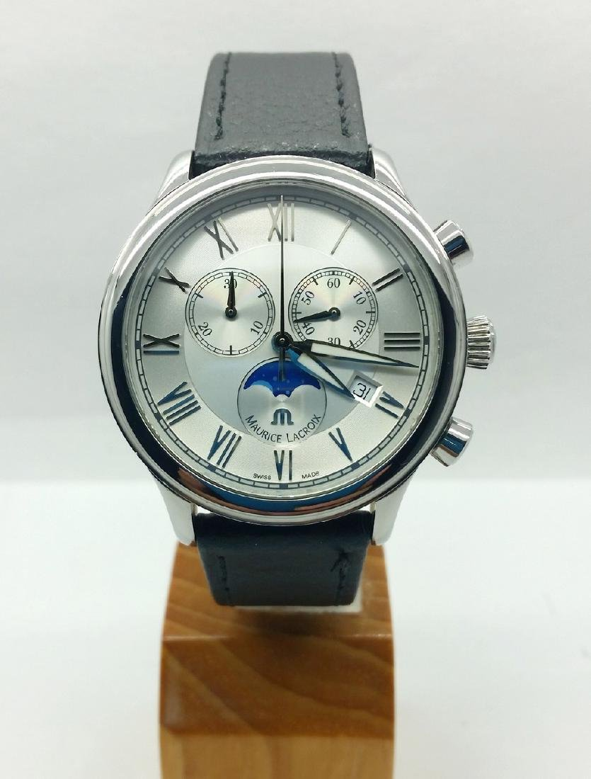 Maurice Lacroix Moonphase chronograph